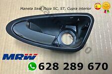 Maneta interior Seat Ibiza 6J 2008 - 2017 delantera izquierda CROMADA