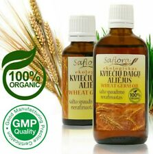 100% Pure Raw Wheat Germ Oil (min. 0.25% Tocopherols) Certified Organic