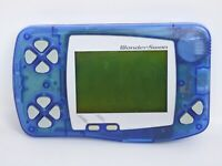 Bandai WONDERSWAN Skeleton Blue JUNK Console Not working /021 SW-001 ws