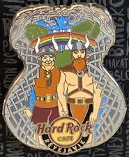 Hard Rock Cafe REYKJAVIK 2018 GAY PRIDE PIN 2 Guys on Guitar Body - HRC #100990