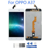 For Oppo A37 LCD Touch Screen Digitizer Assembly Replacement Black White BT02