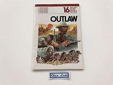 Notice - Outlaw - Atari 2600 - PAL EUR