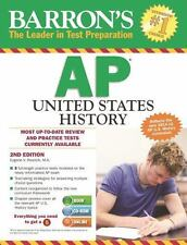 Barron's AP United States History with CD-ROM by Eugene V. Resnick (2014, Mixed…