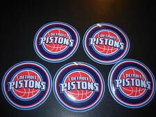 DETROIT PISTONS nba 5 STICKER PACK Lot beer tap anheiser busch budweiser