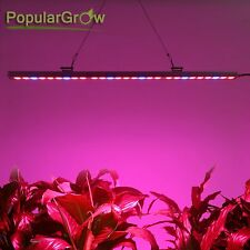81W LED Grow strip Light Bar Red Blue for Hydroponics Indoor plant flower growth