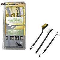 3pcs Brass Brush Cleaning Tool Kit Shotgun Rifle Gun Pistol Handgun Firearm