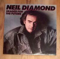 Collection of 4x Neil Diamond Vinyl LP Albums 33rpm - Moods, Heartlight Etc