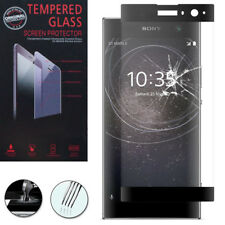 "Film Verre Trempe Protecteur Protection NOIR pour Sony Xperia XA2/ XA2 Dual 5.2"""
