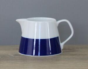 Melitta Form 23 Oslo blaues Band Milchkännchen Sahnegießer Höhe ca. 6 cm