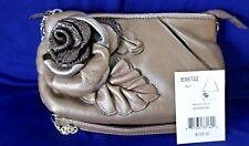 Rare Brighton NWT$155 RHAPSODY Pouch Soft Leather Statement Handbag
