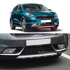 Front Bumper Skid Plate Silver For 2017 2018 Kia Niro