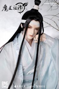 "RingDoll 1/3 BJD Dolls 27.7"" The Untamed Lan WangJi All Set Clothes guqin book"