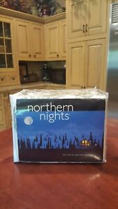 Northern Nights King Size Flannel Sheet Set
