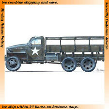 CMK 1/35 US Studebaker US 2 1/2 Ton 6x6 Truck - Resin kit #RA013