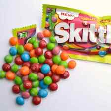 SWEET & SOUR SKITTLES 7 LBs Bulk Vending Machine Fresh Chewy Candy New Candies