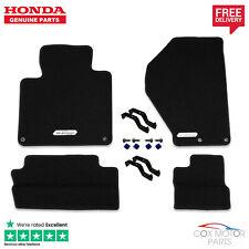 Genuine Honda S2000 Premium Black Carpet Mats (LHD)