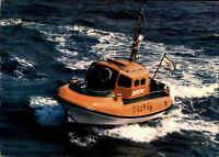 Schiff Seenot Fotokarte der DGzRS Rettungskreuzer Rettungsboot GESINA gebraucht