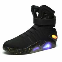 Air Mag Back To The Future Marty McFly Sneakers LED Shoes For Men's Fashion