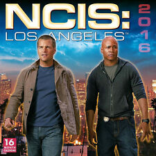 NCIS: Los Angeles TV Series 16 Month 2016 Photo Wall Calendar, NEW SEALED