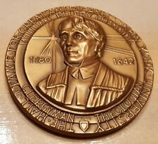 HALL OF FAME GREAT AMERICANS USA WILLIAM CHANNING BRONZE MEDAL RELIGIOUS THEOLOG