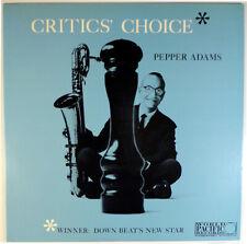 PEPPER ADAMS-CRITIC'S CHOICE-1979 WORLD PACIFIC-KING MONO LP