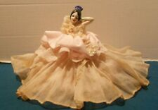 Antique German China Dancer Half Doll Dresser Doll >-)'>