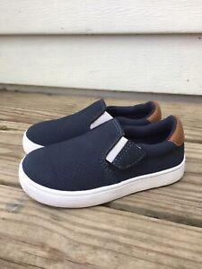 Dr Scholl's Kids Shoes Madison II Slip On Sneaker Toddler Boy Navy Blue Size 8