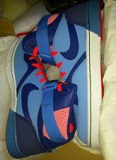 Nike Tranxition Shoes Pink  Blue Shoe Vintage Basketball Sneaker Mens Size 10