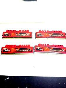 G.SKILL Ripjaws X Series 16GB (4 x 4GB) 240-Pin DDR3 SDRAM DDR3 1600 (PC3 12800)