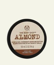 BN The Body Shop Almond Hand And Nail Overnight Manicure Butter
