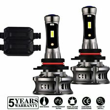 9005 H10 LED Headlight Bulb Canbus Error Free Hi-Low Beam DRL Light 6000K 8000K