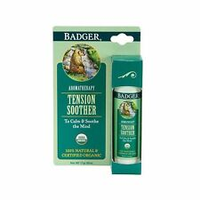 BADGER BALM ORGANIC TENSION SOOTHER - TO CALM & SOOTHE THE MIND - CRUELTY FREE