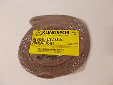 Lot Of 10 Klingspor 310 0060xf 38 X 48 4 Sanding Strips