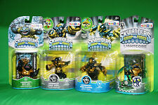 SKYLANDERS  LEGENDARY NIGHT SHIFT ZOO LOU FREE RANGER GRIM CREEPER+SHOW&GO CASE