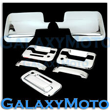 04-08 Ford F150 Chrome Mirror+2 Door Handle+keypad+PSG keyhole+Tailgate Cover