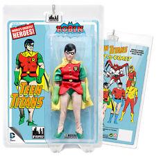 DC Comics Teen Titans Mego Style Robin Action Figure
