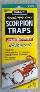 Harris Scorpion traps scorpion glue trap glueboard kill scorpions SCTRP New 2020