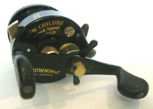 BROWNING BB1NGH LEW CHILDRE SPEED SPOOL BAIT CASTING REEL antique vintage