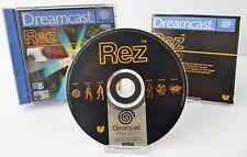 Sega Dreamcast - Rez + Anleitung + OVP