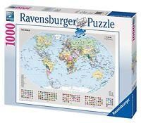Ravensburger Puzzle - Political World Map  1000 pieces