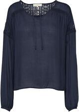CREAM DK - 10602544 Bluse / ROYAL NAVY BLUE  /    38 - M (L)