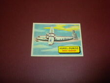 PLANES trading card #21 TOPPS 1957 Army Navy Air Force AIRPLANES OF THE WORLD