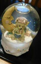 Baby Bear With Moon & Star Snow Globe