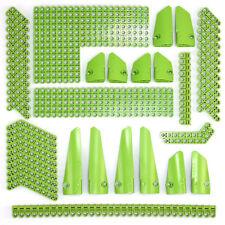 Lego Technic Bright Green Studless Beams Liftarms Panels Bricks 138 Parts - NEW