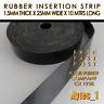 RUBBER INSERTION STRIP 1.5 MM THK X 25 MM W X 10MTR LONG COIL HIGH QUALITY | HYT