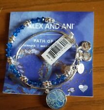 Alex and Ani PATH OF LIFE ART INFUSION SET OF 2 Bangles New W/ Tag Card
