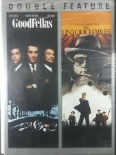 Goodfellas / Untouchables Dvd Double feature New