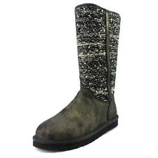 UGG Australia Flat (less than 0.5') Textile Boots for Women