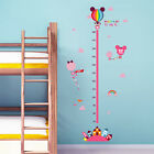 Mickey Minnie Mouse Kids Nursery Removable Wall Stickers Height Chart Art Mural