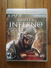 Dante's Inferno: Divine Edition (Sony PlayStation 3, 2010) W/Manual